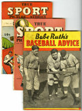 Golden Age (1938-1955):Non-Fiction, True Sport Picture Stories Group (Street & Smith, 1936-43)Condition: Average VG.... (Total: 3 Comic Books)