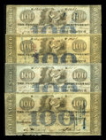 Obsoletes By State:Louisiana, New Orleans, LA- Bank of Louisiana $100 G24b G24d (3). ... (Total: 4 notes)