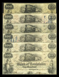 Obsoletes By State:Louisiana, New Orleans, LA- Bank of Louisiana $100 G26a (3), G26c (3). ... (Total: 6 notes)