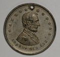 U.S. Presidents & Statesmen, Pair of 1864-5 Lincoln Medals.... (Total: 2 pieces)