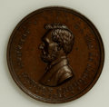U.S. Presidents & Statesmen, Duo of 1864 Lincoln Medals.... (Total: 2 pieces)