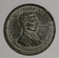 U.S. Presidents & Statesmen, Trio of 1860s Abe Lincoln Medalets.... (Total: 3 pieces)