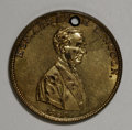 "U.S. Presidents & Statesmen, Pair of 1860 Lincoln ""Rail-Splitter"" Medals.... (Total: 2 pieces)"
