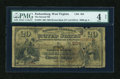 National Bank Notes:West Virginia, Parkersburg, WV - $20 1882 Brown Back Fr. 494 The Second NB Ch. #(S)864. ...