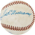 Autographs:Baseballs, Ted Williams and Carl Yastrzemski Dual-Signed Baseball....