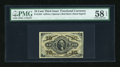 Fractional Currency:Third Issue, Fr. 1254 10c Third Issue PMG Choice About Unc 58 EPQ....