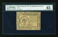 Colonial Notes:Continental Congress Issues, Continental Currency February 26, 1777 $8 PMG Choice Extremely Fine45....