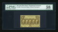Fractional Currency:First Issue, Fr. 1280 25c First Issue PMG Choice About Unc 58....