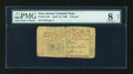 Colonial Notes:New Jersey, New Jersey April 12, 1760 £3 PMG Very Good Net 8....