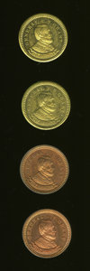 U.S. Presidents & Statesmen, Four-Piece Lot of General U.S. Grant Tokens.... (Total: 4 tokens)