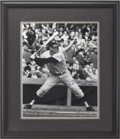Autographs:Photos, Mickey Mantle Signed Photograph. (536 HR's)...