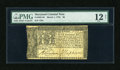 Colonial Notes:Maryland, Maryland March 1, 1770 $8 PMG Fine Net 12....