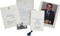 Autographs:U.S. Presidents, American Presidents.... (Total: 5 Items)