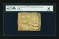 Colonial Notes:Continental Congress Issues, Continental Currency January 14, 1779 $3 PMG Very Good 8....