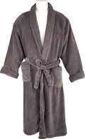Movie/TV Memorabilia:Costumes, Glenn Ford's Monogrammed Bath Robe....