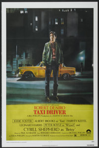 """Taxi Driver (Columbia, 1976). One Sheet (27"""" X 41""""). Crime"""