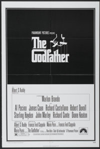 """The Godfather (Paramount, 1972). One Sheet (27"""" X 41""""). Crime"""