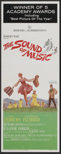 "Movie Posters:Academy Award Winner, The Sound of Music (20th Century Fox, 1965). Insert (14"" X 36"")Academy Award Style. Musical...."