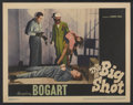 "Movie Posters:Crime, The Big Shot (Warner Brothers, 1942). Lobby Card (11"" X 14"").Crime...."