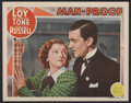 "Movie Posters:Comedy, Man-Proof (MGM, 1938). Lobby Card (11"" X 14""). Comedy...."