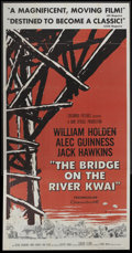 "Movie Posters:Academy Award Winner, The Bridge On The River Kwai (Columbia, 1958). Three Sheet (41"" X81""). Academy Award Winner...."