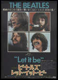 "Movie Posters:Rock and Roll, Let It Be (United Artists, 1970). Japanese B2 (20"" X 28.5""). Rockand Roll...."