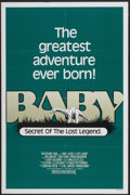 "Movie Posters:Adventure, Baby: Secret of the Lost Legend (Buena Vista, 1985). One Sheet (27""X 41""). Adventure...."