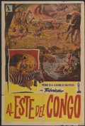 "Movie Posters:Documentary, Serengeti (Allied Artists, 1960). Argentinean Poster (29"" X 43""). Also known as Serengeti Shall Not Die. Documentary...."