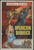 "Movie Posters:Adventure, Passport to Hell (SC Entertainment, 1965). Argentinean Poster (29""X 43""). Adventure...."
