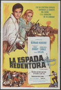 "Movie Posters:Adventure, Clash of Steel (Columbia, 1962). Argentinean Poster (29"" X 43"").Adventure...."