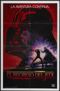 "Movie Posters:Science Fiction, Revenge of the Jedi (20th Century Fox, 1982). Spanish One Sheet(27"" X 41"") Advance. Science Fiction...."