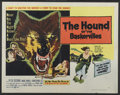 """Movie Posters:Mystery, The Hound of the Baskervilles (United Artists, 1959). Half Sheet(22"""" X 28"""") Style A. Mystery...."""
