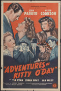 "Movie Posters:Mystery, Adventures of Kitty O'Day (Monogram, 1944). One Sheet (27"" X 41"").Mystery...."