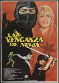 "Movie Posters:Action, Revenge of the Ninja (Cannon, 1983). Spanish One Sheet (27.5"" X 39""). Action...."