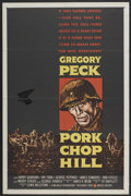 "Movie Posters:War, Pork Chop Hill (United Artists, 1959). One Sheet (27"" X 41"").War...."