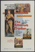 "Movie Posters:Adventure, The Amazon Trader (Warner Brothers, 1956). One Sheet (27"" X 41"").Adventure...."