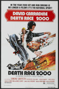 "Movie Posters:Cult Classic, Death Race 2000 (New World, 1975). One Sheet (27"" X 41""). CultClassic...."