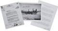 Autographs:Military Figures, First Atomic Bomb Mission Collection. ... (Total: 3 Items)
