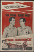 "Movie Posters:War, Flying Leathernecks (RKO, R-1956). One Sheet (27"" X 41"") Style A.War...."
