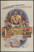 "Movie Posters:Adventure, Davy Crockett and the River Pirates (Buena Vista, 1956). One Sheet(27"" X 41""). Adventure...."