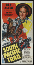 "Movie Posters:Western, South Pacific Trail (Republic, 1952). Three Sheet (41"" X 81""). Western...."