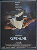 "Movie Posters:Horror, Gremlins (Warner Brothers, 1984). French Grande (47"" X 63""). Horror...."