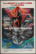 "Movie Posters:James Bond, The Spy Who Loved Me (United Artists, 1977). Poster (40"" X 60"").James Bond...."
