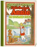 Platinum Age (1897-1937):Miscellaneous, Little Orphan Annie #8 In Cosmic City (Cupples & Leon,1933) Condition: VG/FN....