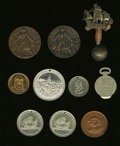 Expositions and Fairs, Columbiana and Iceland Medals.... (Total: 10 medals)