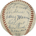 Autographs:Baseballs, 1944 Chicago White Sox Team Signed Baseball....