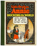 Platinum Age (1897-1937):Miscellaneous, Little Orphan Annie #4 Bucking the World (Cupples &Leon, 1929) Condition: VG/FN....