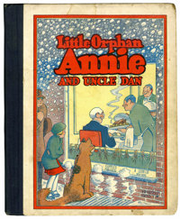 Little Orphan Annie #9 And Uncle Dan (Cupples & Leon, 1933) Condition: GD/VG