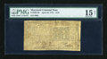 Colonial Notes:Maryland, Maryland April 10, 1774 $1/9 PMG Choice Fine 15 Net....