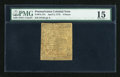Colonial Notes:Pennsylvania, Pennsylvania April 3, 1772 4d PMG Choice Fine 15....